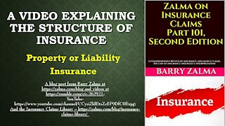 A Video Explaining the Structure of Insurance