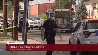 9 people shot during large gathering in Denver Sunday