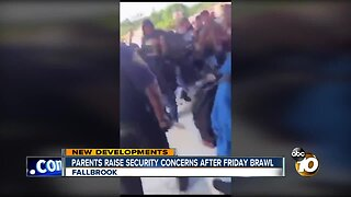 Parents raise safety concerns after Friday brawl
