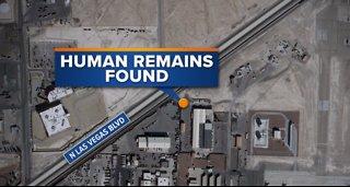 Las Vegas police investigate human remains found near Nellis AFB