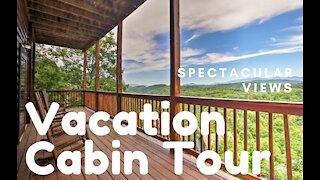 AMAZING VACATION DESTINATION: 6 Bedroom Luxury Cabin! Amazing Views! -Smokey Mountain Cabin Series!