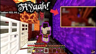 The Greatest Nether In Minecraft History!!!   Completing Minecraft Series