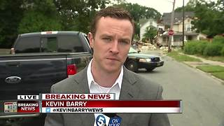 One person dead after house explosion in East Cleveland