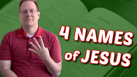 Are the Names in Isaiah 9 REALLY Names of Jesus?