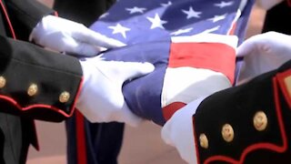Flag- Folding Ceremony - Meaning of Each Fold with Ann M. Wolf