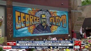 Minneapolis considers George Floyd memorial