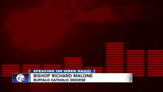 Buffalo Bishop Malone admits mishandling of accused priest, but will not resign