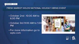 Fresh Market holding national hiring event