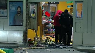 Woman nearly hit during smash-and-grab on Detroit's west side