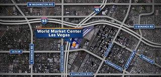 Downtown Las Vegas future home of expo center