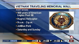 Travelling Vietnam Wall memorial coming to Fort Myers this weekend