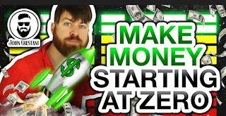 Make money online from scratch