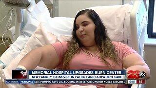 Memorial Hospital opens new burn facility
