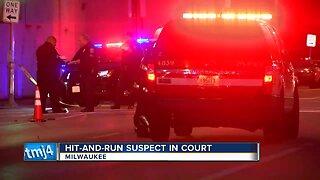 Milwaukee hit-and-run suspect in court