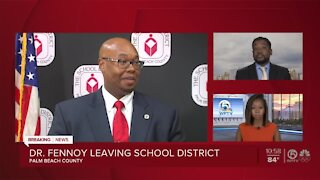 Palm Beach County schools Superintendent Dr. Donald Fennoy resigning