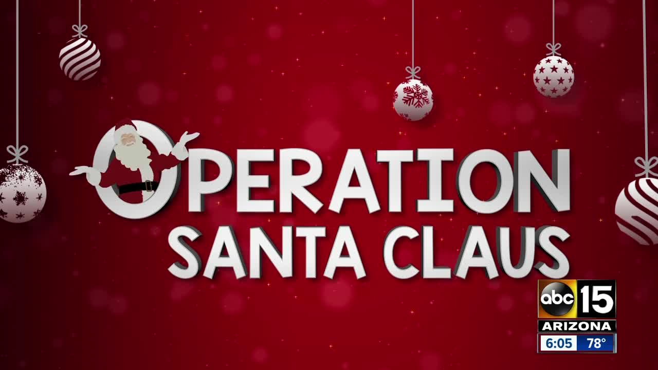 Kicking of the Season of Giving with Operation Santa Claus !