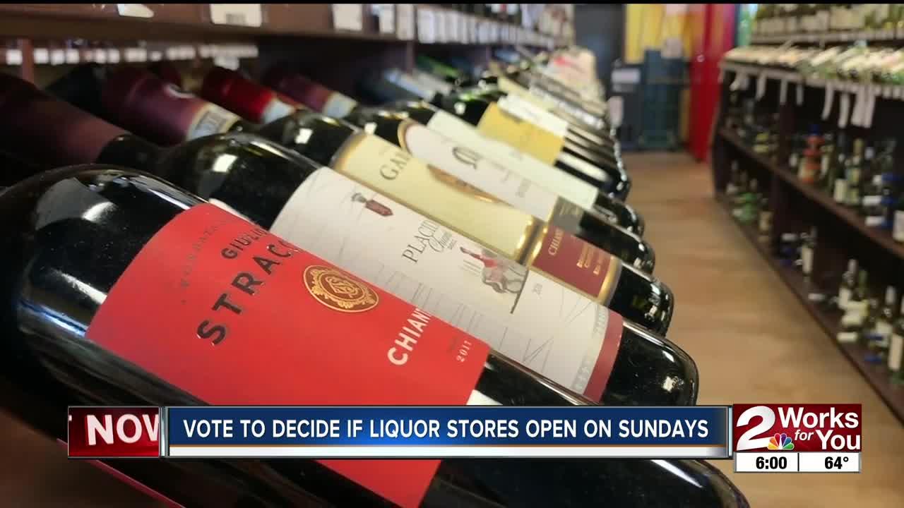 Vote to decide if liquor stores open on Sundays