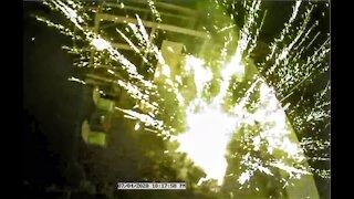Accidental Fireworks Explosion
