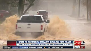 State of emergency declared in South, East Coast