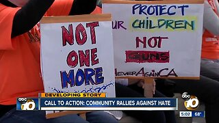 Call to Action: Community rallies against hate