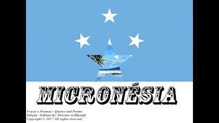 Bandeiras e fotos dos países do mundo: Micronésia [Frases e Poemas]