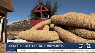 Incoming storm raises concerns of flooding in burn areas