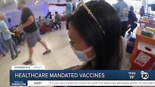 Mandated vaccines healthcare