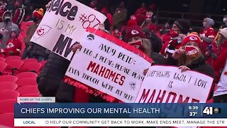 Chiefs are good for people's mental health