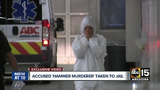 Accused Valley killer led into jail