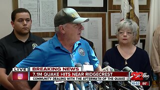 Ridgecrest Community Leaders discuss earthquake recovery
