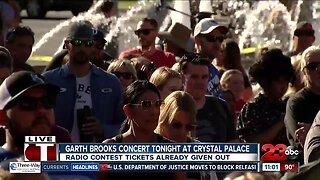 Garth Brooks tonight at Crystal Palace