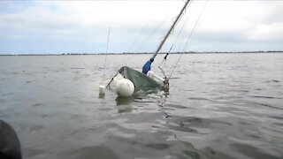 Boats damaged during Martin County storms
