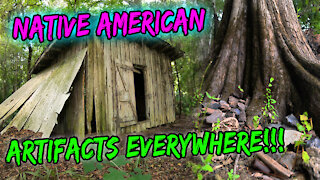 Secret Ancient Indian Sites!! Artifacts Everywhere!!!