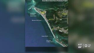 Major sand project on Anna Maria Island