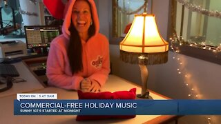 Commercial-free Christmas music begins on West Palm Beach radio station
