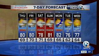 Steve Villanueva's 11 p.m. forecast