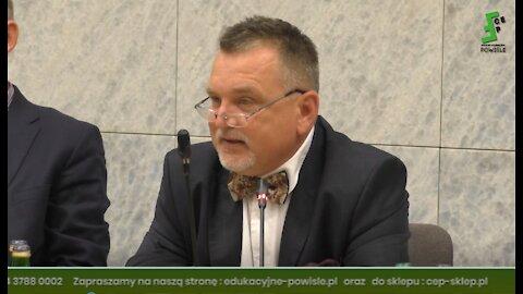 ZPd/sBezp. i Obronności -m.in.: poseł Grzegorz Braun, prof. Andrzej Zapałowski, dr Tomasz Michalczak