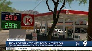 $50K Powerball ticket sold at a Tucson Circle K