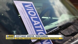 People in Wisconsin city can pay parking tickets with food donation