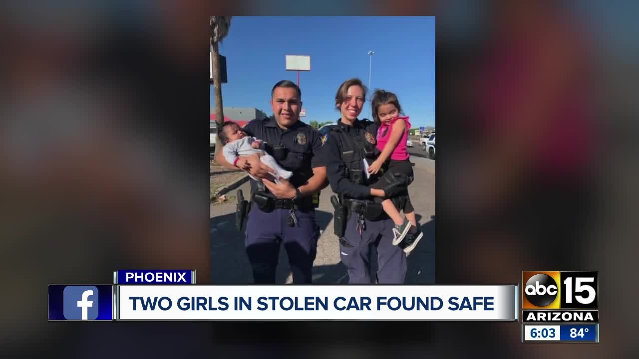 Phoenix police finds missing girls