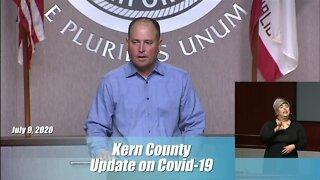 Kern County Health Department Coronavirus Update: July 9, 2020