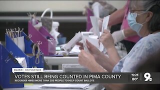 Pima County ballots still being counted