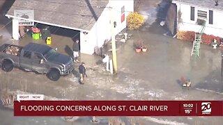 Flooding concerns continue along St. Clair River