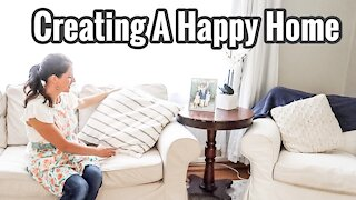 Creating A Happy Home - 5 homemaking tips