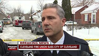 Cleveland firefighters file lawsuit to have fire chief removed from office