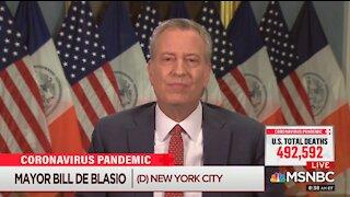 NYC Mayor de Blasio Attacks Governor Cuomo Over Nursing Home Deaths