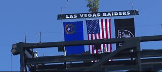Topping out ceremony for Las Vegas stadium