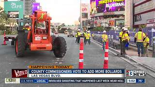 County commissioners vote to add more bollards