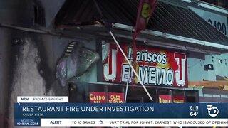 Fire destroys Mariscos restaurant