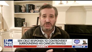 Cruz admits having 'second thoughts almost immediately' about Cancun